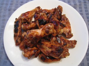 BBQ Wings with Orange Teriyaki Glaze