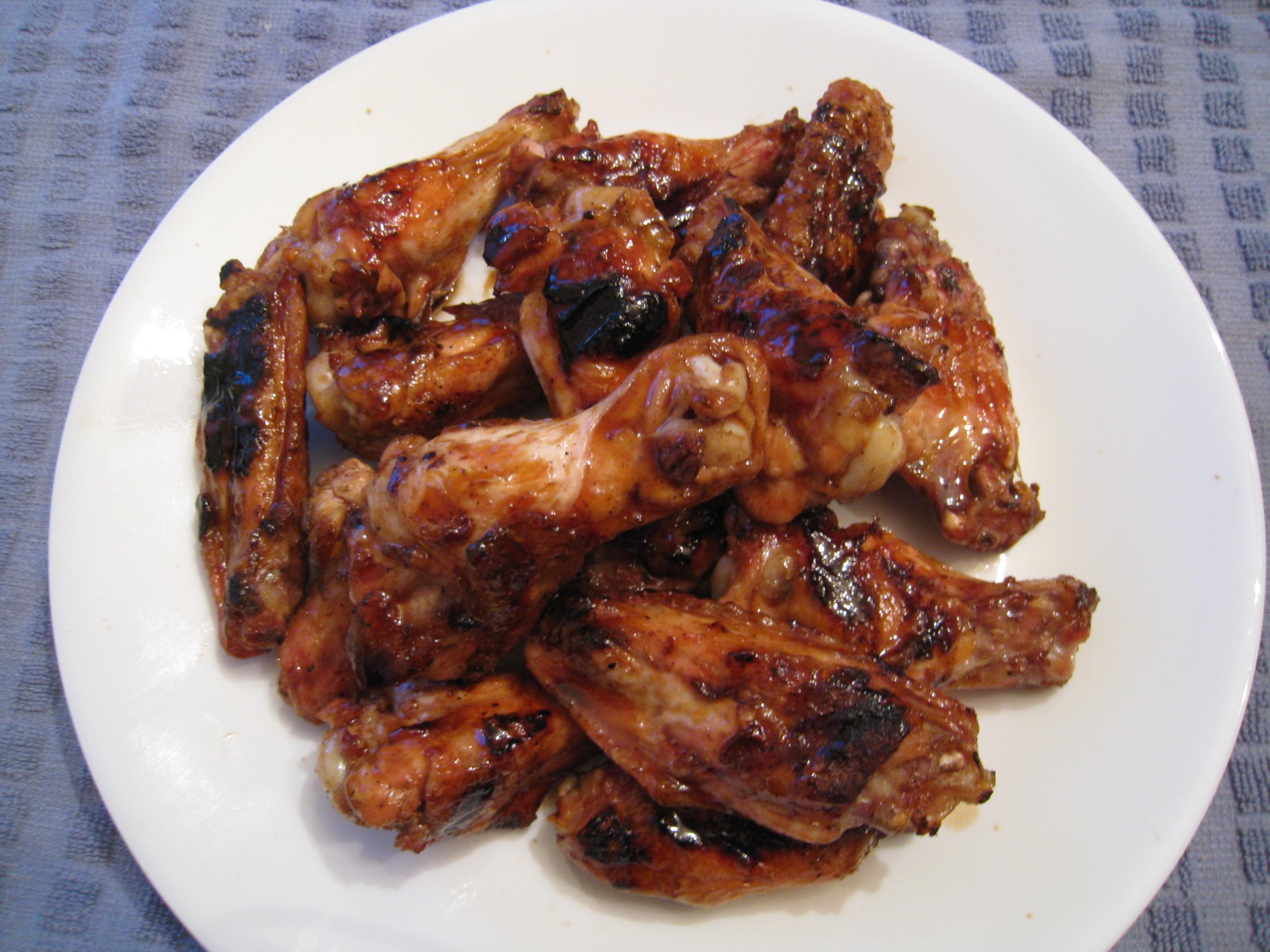 jalan alor chicken wings chicken teriyaki teriyaki sauce salmon ...