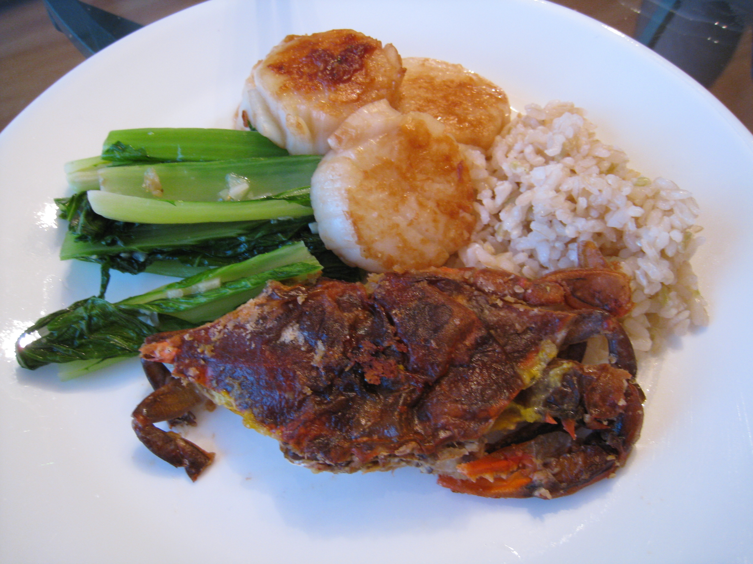 Panfried Soft-Shell Crabs