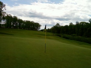 I guit golf. I'm gonna miss this.