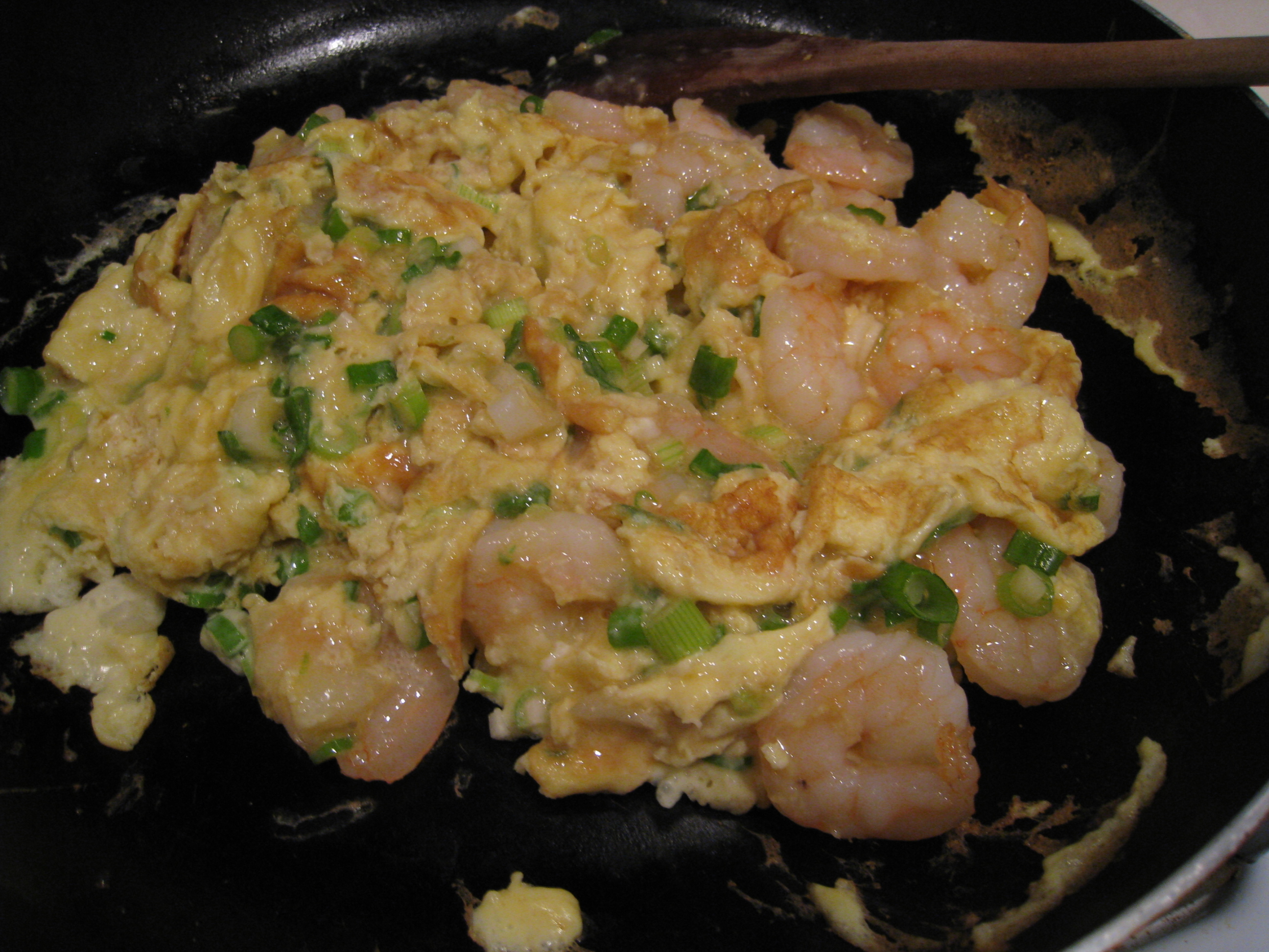 Shrimp Egg Foo Young (15 mins) - Chinese Chicken Recipes ...