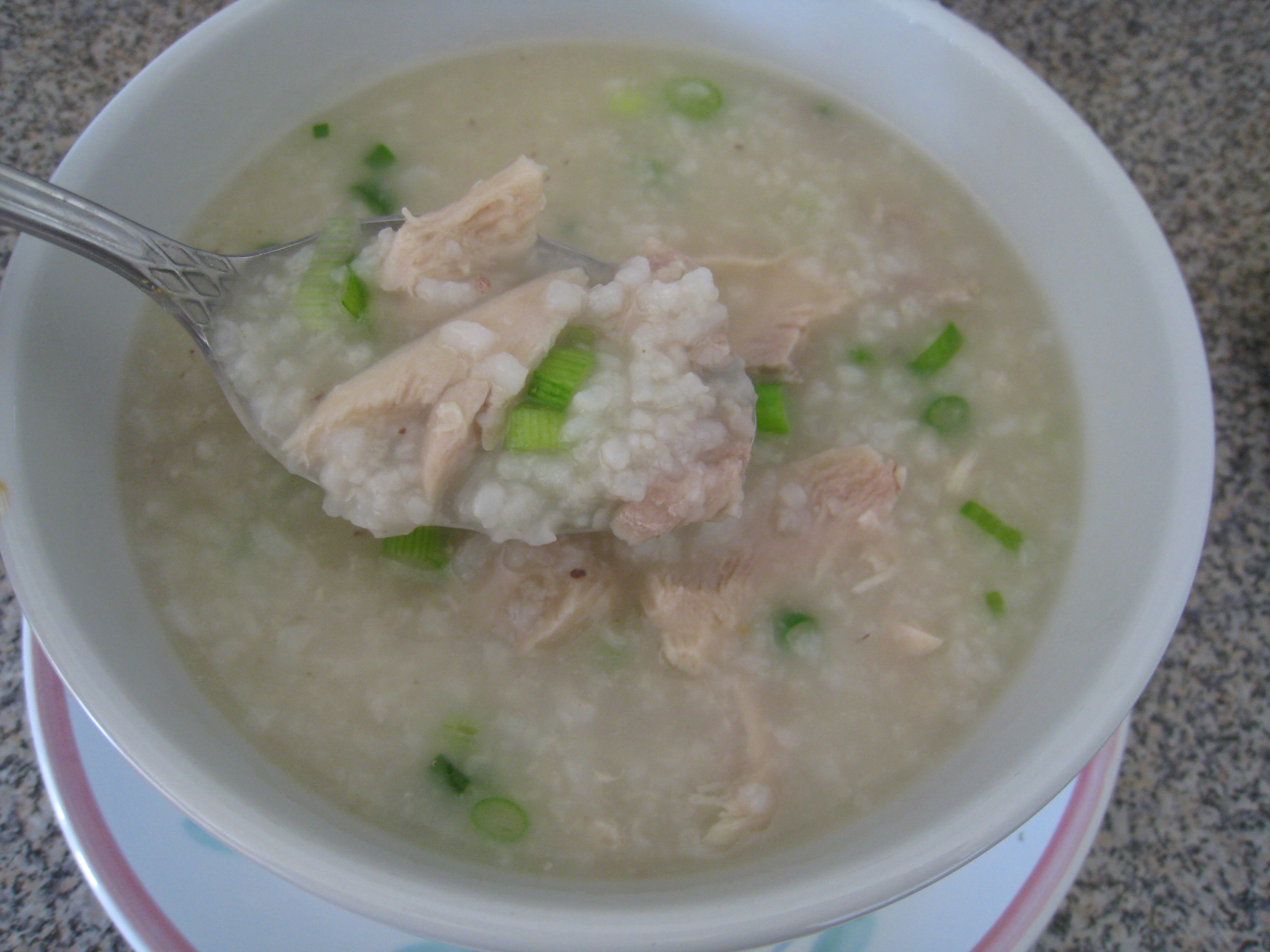 Congee (Chinese Chicken and Rice Porridge): 2000s Recipes + Menus ...