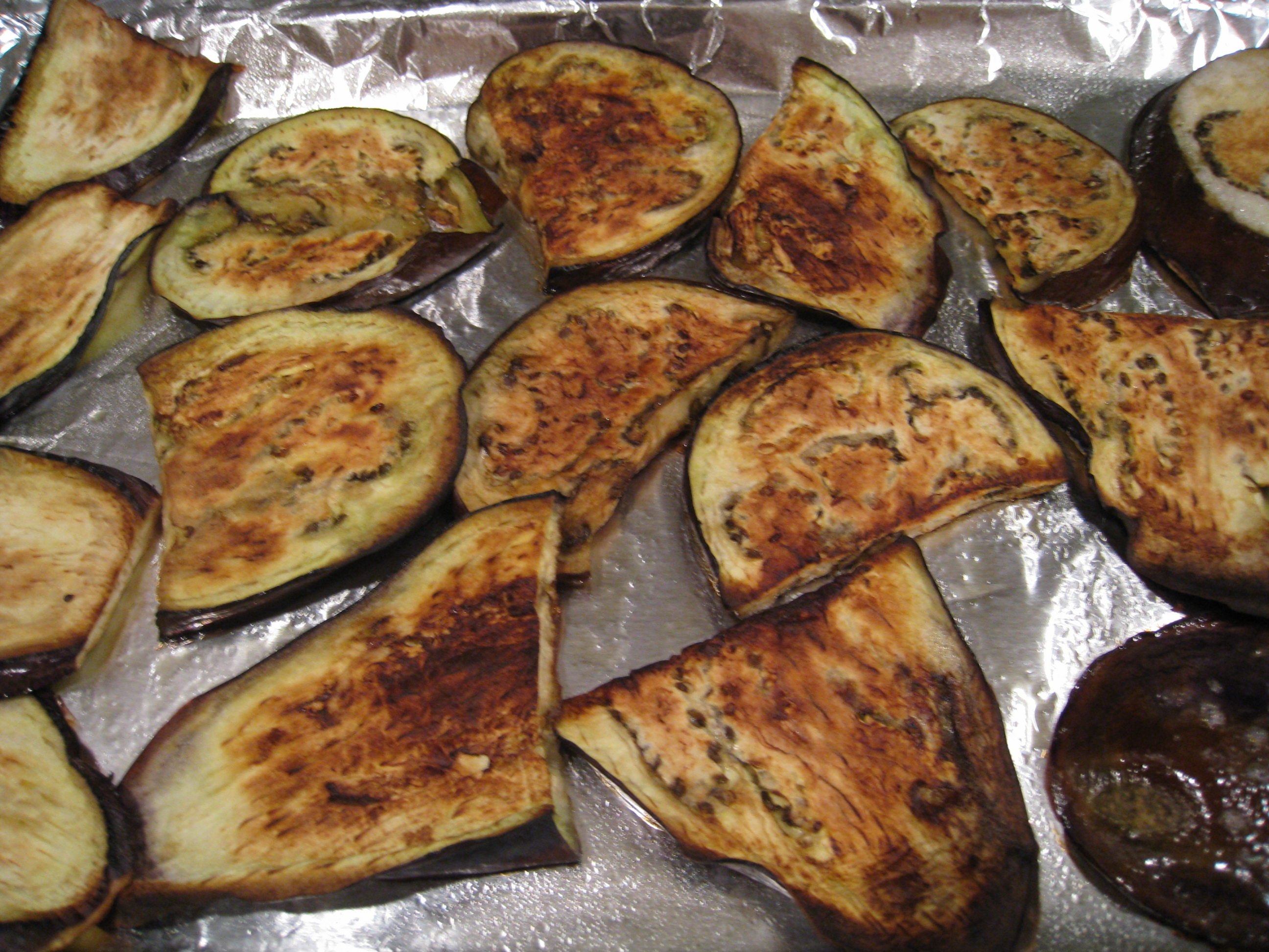 Grilled Eggplant :: Chinese Chicken Recipes for Busy People